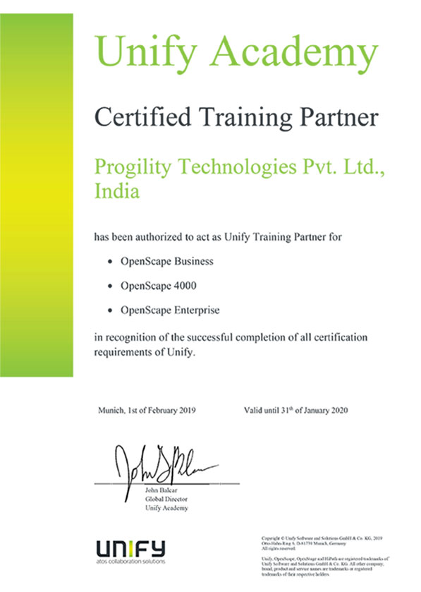 Progility   Our Partners